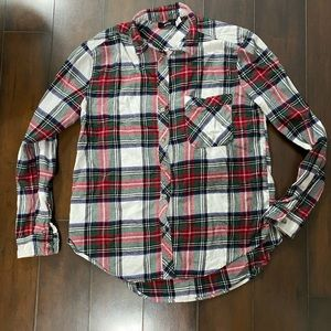 Urban Outfitters BDG Christmas Plaid Flannel